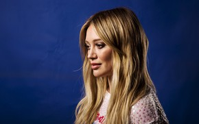 Picture look, girl, hair, Hilary Duff