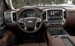 Picture Chevrolet, Interior, Silverado, Vehicle
