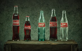 Picture bottle, drink, coca cola