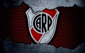 Picture wallpaper, sport, logo, football, River Plate