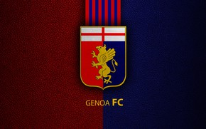 Picture wallpaper, sport, logo, football, Genoa, Italian Seria A