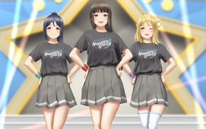 Picture girls, star, Anime, Love Live! School Idol Project