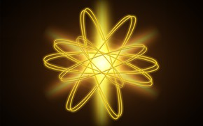 Picture energy, model, atom