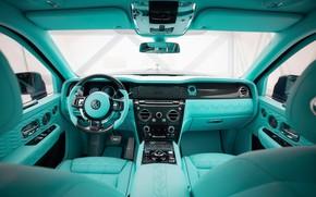 Picture design, interior, Rolls-Royce, luxury, Rolls-Royce, Mansory, 2020, Cullinan, Rolls-Royce Cullinan, Mansory Coastline, Коастлайн