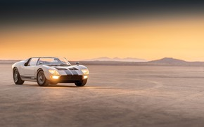 Picture Roadster, Ford, Prototype, the evening, Ford GT, 1965, GT40