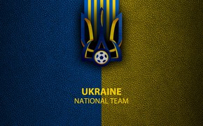 Picture wallpaper, sport, logo, football, Ukraine, National team