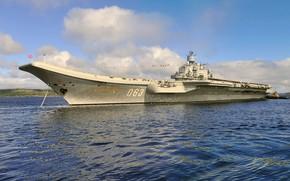 Picture cruiser, aircraft carrier, Admiral Kuznetsov