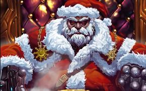 Picture Winter, Figure, Christmas, Background, New year, Santa, Beard, Holiday, Santa Claus, Art, Christmas, Art, Merry ...