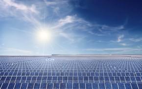 Picture sun, electric, solar panels, solar energy