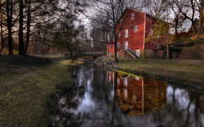 Picture Pennsylvania, Mill, East Hopewell Township, Cross Mill