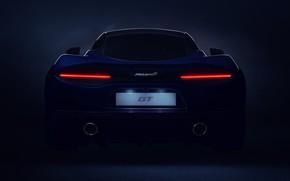 Picture McLaren, supercar, rear view, 2019, McLaren GT