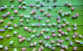 Picture the sweetness, candy, widescreen, background, фон background, sweet, the Wallpapers, full screen, HD wallpapers, marshmallows, …