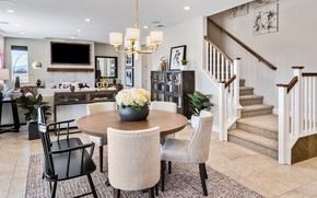 Picture design, style, interior, living room, dining room, Brothers Reno at Stonebrook Campo