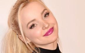 Picture look, face, pose, smile, portrait, makeup, actress, singer, hair, Dove Cameron, Dove Cameron