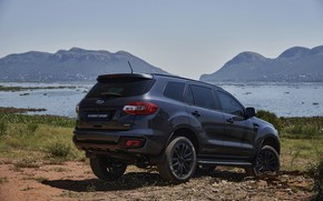Picture coast, Ford, Sport, Everest, 4WD, 2021