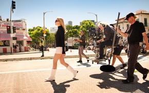 Picture movie, blonde, Los Angeles, movie, blonde, shooting, Los Angeles, margot robbie, Margot Robbie, once in …