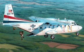 Picture military transport aircraft, CASA, C-41A, Aviocar