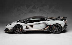 Picture Lamborghini, supercar, side view, 2018, Aventador, Aventador SVJ, The CONDOMINIUM 63