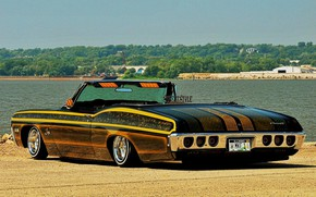 Picture Chevrolet, Impala, Lowrider, Convertible, Custom, 1968 Year