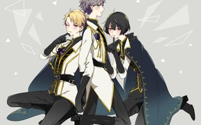 Picture the game, anime, Gloves, guys, princes, Ensemble Stars!