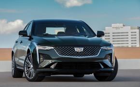 Picture Cadillac, sedan, front, four-door, 2020, CT4