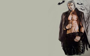 Picture background, vampire, male, bats