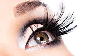 Picture Girl, Look, Eyes, Eyelashes, Makeup, Closeup, Cosmetics