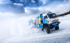 Picture Winter, Snow, Sport, Speed, Truck, Master, Day, Russia, 500, Kamaz, Rally, KAMAZ-master, Rally, KAMAZ, The …
