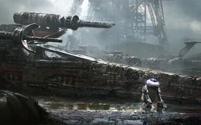 Picture Star Wars, star wars, R2-D2, Sci-Fi, X-wing, emmanuel shiu, Star fighter T-65 X-wing, astromechanics droid, …
