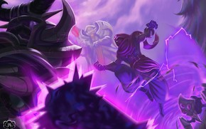 Picture characters, League Of Legends, Malzahar