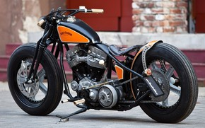 Picture Harley-Davidson, Motorbike, Motorcycle, Thunderbike