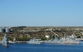 Picture ships, Bay, Sevastopol