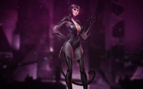 Picture Style, Costume, Background, Latex, Catwoman, Art, Art, Batman, Beauty, Style, Cat woman, Figure, Beautiful, Background, …