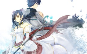 Picture girl, guy, two, Fire Emblem