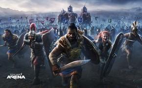 Wallpaper elephants, army, total war, attack, Hannibal, Leonidas, Total War Arena, armies, Boudica, (B, Hasdrubal