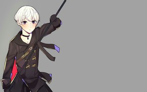Picture boy, spear, Nier Automata, YoRHa No 9 Type S
