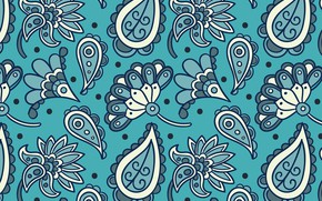 Picture pattern, Paisley, batik