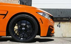 Picture Orange, Car, Bmw, BBS, F82