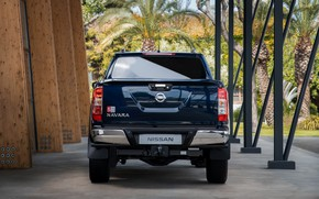 Picture Nissan, rear view, pickup, Double Cab, Navara, 2019