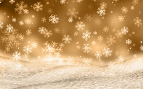 Picture winter, snow, snowflakes, background, Christmas, winter, background, snow, snowflakes