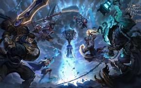 Picture creatures, Cup, League of Legends