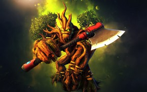 Picture tree, axe, Grover, Paladins