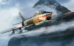 Picture The game, The plane, Flight, Fighter, Art, Aviation, BBC, War machine, Military equipment, Attack, WarThunder, …