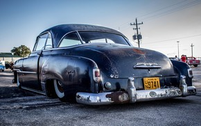 Picture Chevy, Old, Rat Rod, Low
