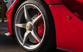 Picture Wheel, Logo, LaFerrari, 2015, Brake, Horse
