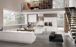Picture design, style, interior, kitchen, living room, dining room