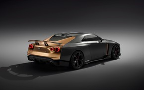 Picture Concept, Nissan, rear view, 2018, ItalDesign, GT-R50