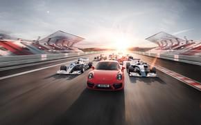 Picture road, track, Porsche, Porsche, race, Car, Porsche