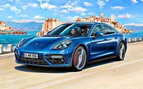 Picture Porsche, Germany, Panamera, Art, Turbo, Gran Turismo
