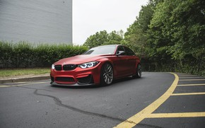 Picture BMW, Light, Predator, RED, F80
